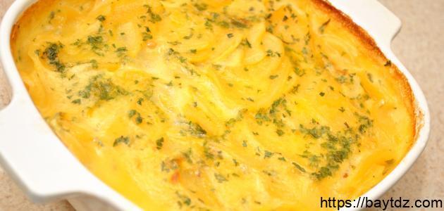 صينية بطاطس بالجبن