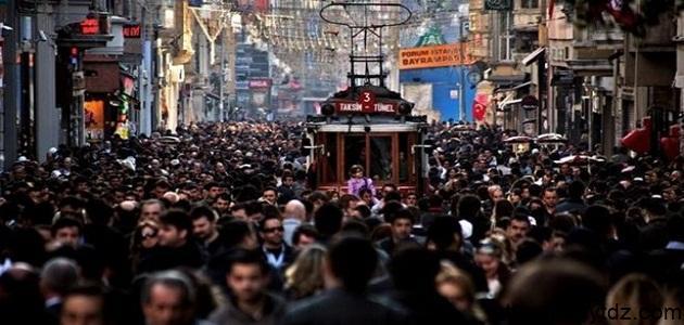 عدد سكان تركيا