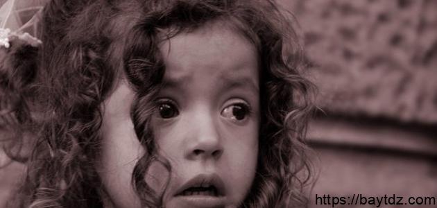 قصة الطفلة اليتيمة