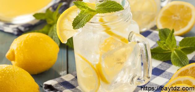 كيف اعمل عصير الليمون