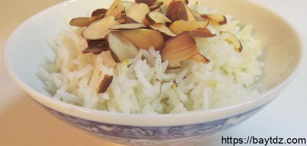 كيفية طبخ أرز بسمتي