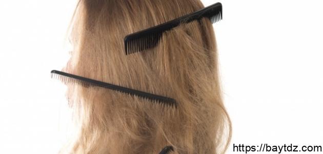 كيفية منع تساقط الشعر