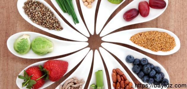 ما فائدة الطعام الصحي