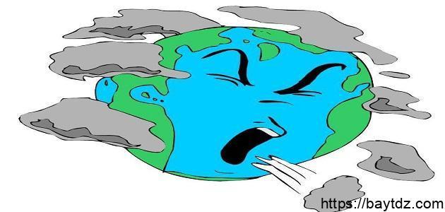 ما هى مصادر تلوث الهواء