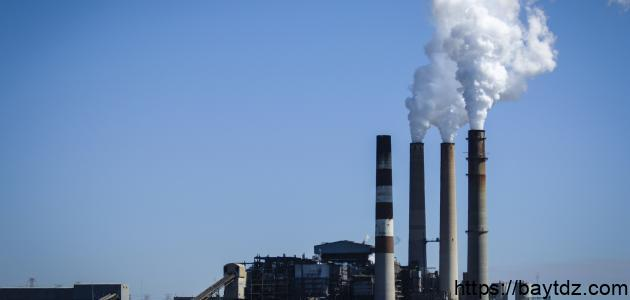 مظاهر تلوث الهواء