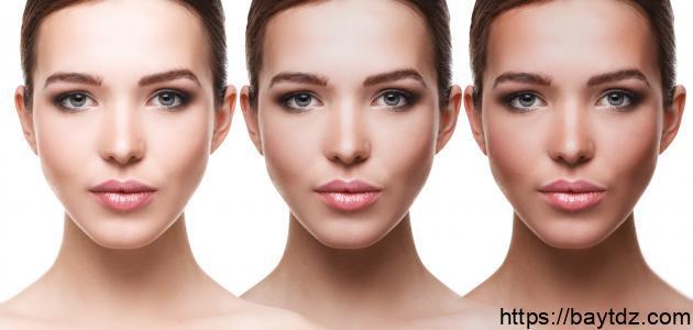 وصفات لتبييض الوجه بسرعة