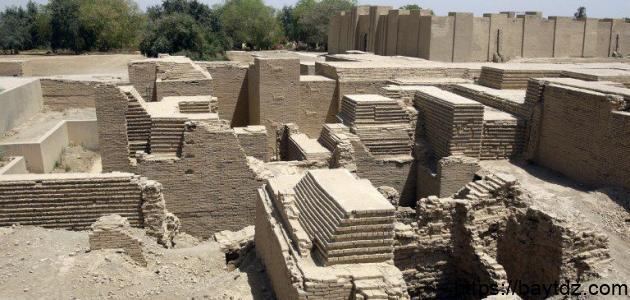 آثار بابل القديمة