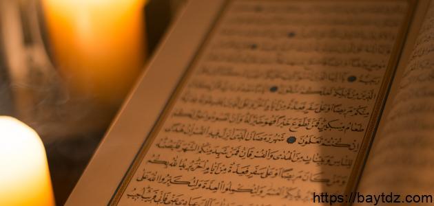 أثر القرآن الكريم في تزكية النفس