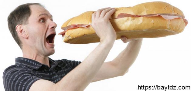 أسباب الجوع المستمر
