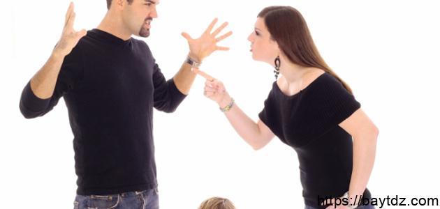 أسباب الخلافات الزوجية
