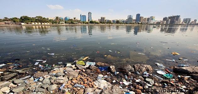 أسباب تلوث البحر