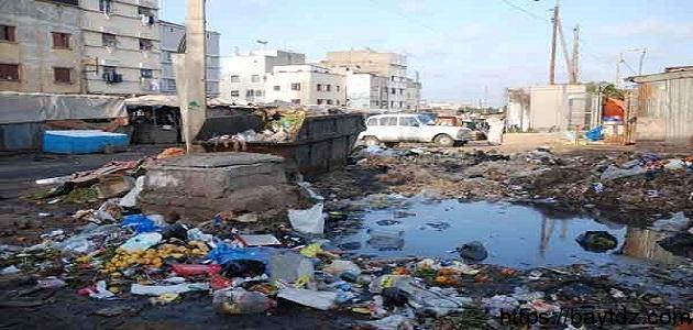 أسباب تلوث البيئة