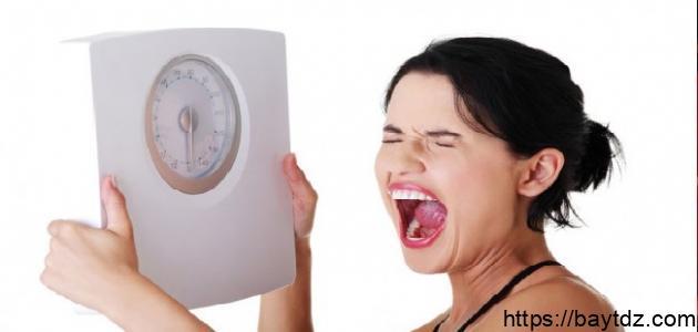 أسباب قلة الوزن