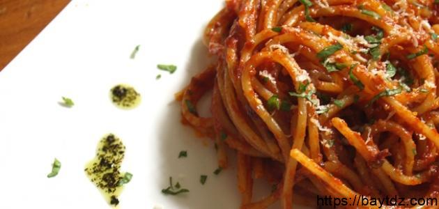 أشهر الأكلات الايطالية