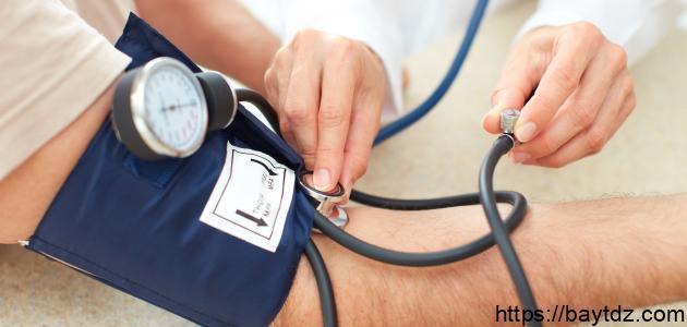 أضرار ارتفاع ضغط الدم
