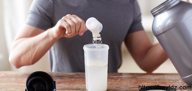 أضرار البروتين لكمال الأجسام