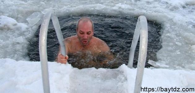 أضرار الماء البارد
