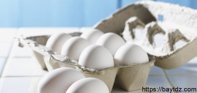 أضرار بياض البيض على الوجه