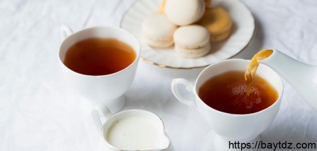 أضرار شرب الشاي بالحليب