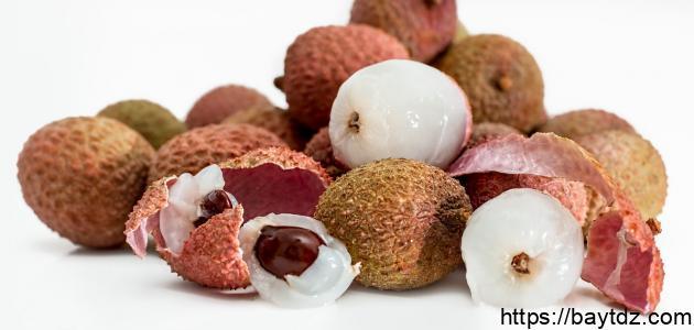 أضرار فاكهة الليتشي
