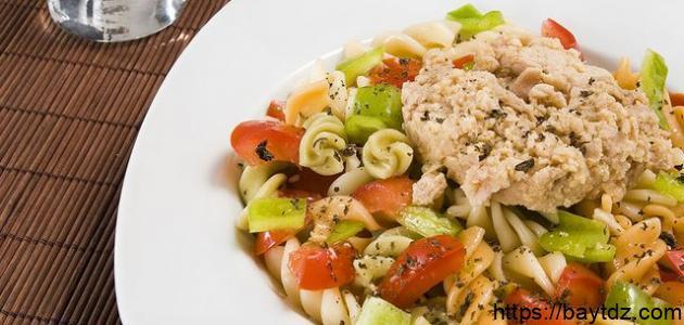 أطباق عشاء من التونة