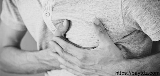 أعراض الذبحة القلبية