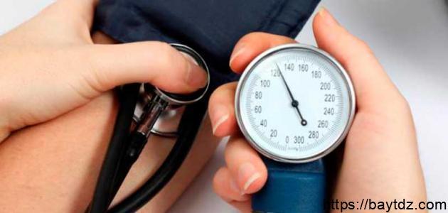 أعراض ضغط الدم المرتفع