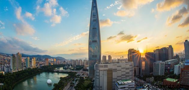 أفضل الأماكن السياحية في كوريا الجنوبية