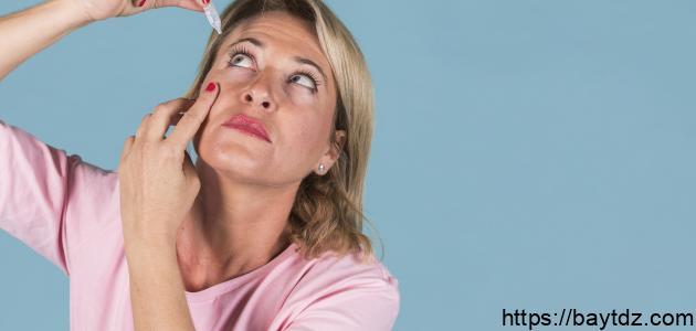 أفضل علاج لجفاف العين