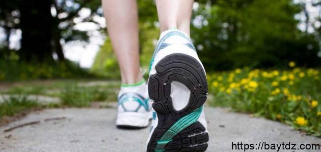 أفضل وقت لممارسة رياضة المشي