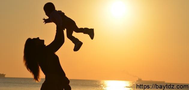 أقوال عن حب الأم لأولادها