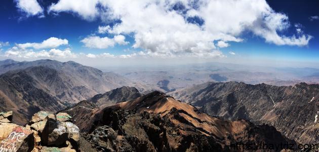 أكبر جبل في المغرب