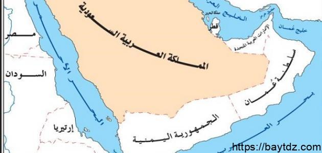 أكبر دولة عربية