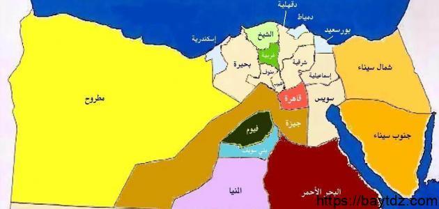 أكبر محافظة في مصر