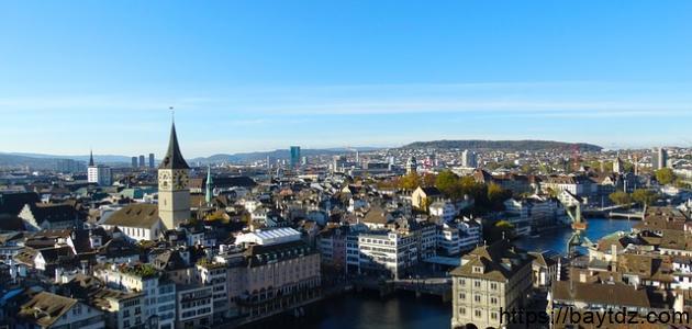 أكبر مدينة من حيث عدد السكان بسويسرا