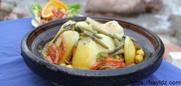 أكلات رمضانية مغربية خفيفة