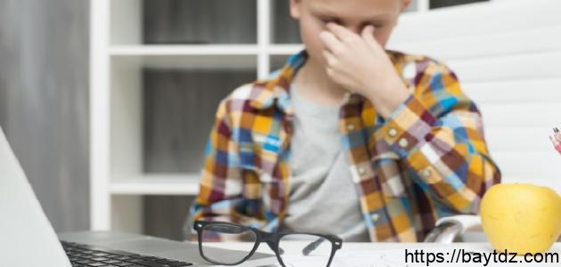 أمراض العيون عند الأطفال
