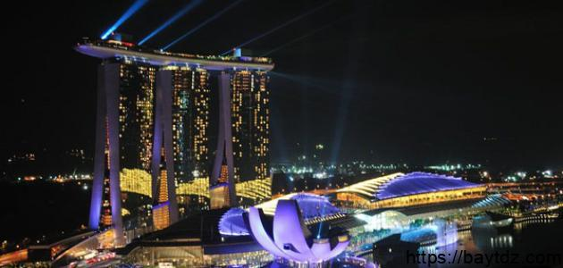 أهم الأماكن السياحية في سنغافورة