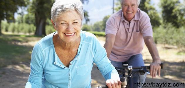 أهمية الرياضة وأثرها على المسنين