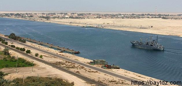أهمية قناة السويس للإقتصاد المصري
