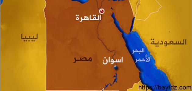 أهمية موقع مصر الجغرافي