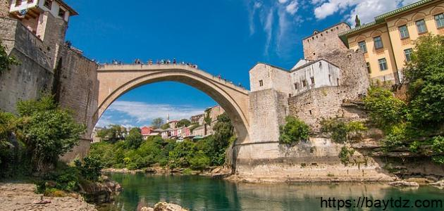 أين تقع بوسنة
