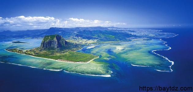 أين تقع جزر الموريشيوس