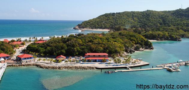 أين تقع جزر هاييتي