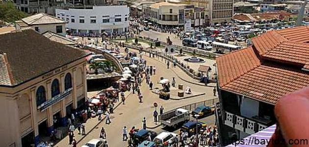 أين تقع جمهورية غانا