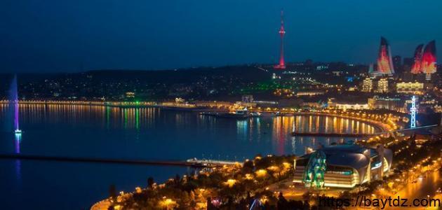 أين تقع دولة أذربيجان