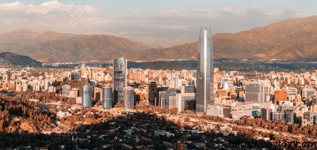 أين تقع دولة تشيلي