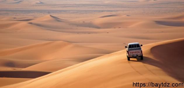 أين تقع صحراء الدهناء