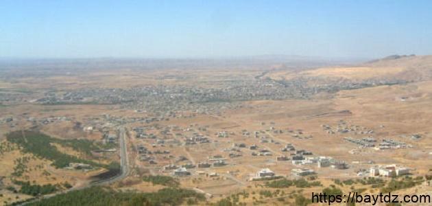 أين تقع كردستان العراق