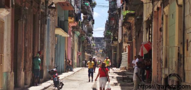 أين تقع كوبا
